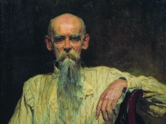 Ефим Волков (Портрет работы А.В. Маковского, 1914)