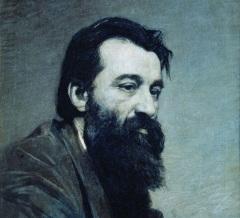 Сергей Аммосов (Портрет работы Н.А. Ярошенко)
