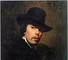 Николай Васильевич Неврев (Автопортрет, 1858)