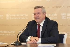 Василий Юрьевич Голубев (Правообладатель фото: Правительство Ростовской области)