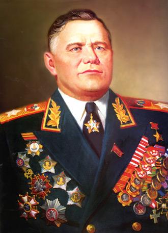 Полководец Великой Отечественной войны, Маршал Советского Союза, с 1957 по 1967 годы - министр обороны СССР.