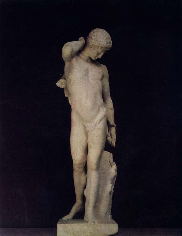 знакомство с произведениями скульпторов