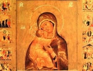 Празднование в честь Владимирской иконы Божией Матери