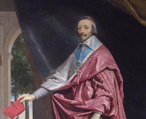 Кардинал Ришелье назначен Первым министром Франции