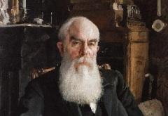 Алексей Иванович Абрикосов (Портрет работы В.А. Серова, 1895)