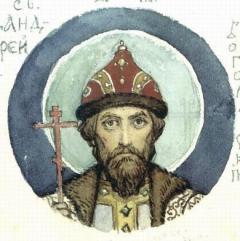 Андрей Боголюбский, великий князь Владимиро–Суздальский
